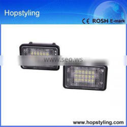 24 months warranty car light china supplier for X204 LED license plate lamp canbus No error code LED car light