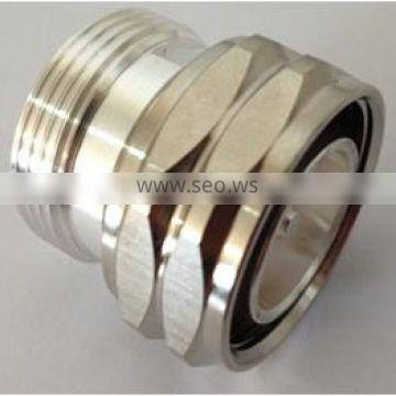 Din male to Din female type rf coaxial connector wifi adapter/connector, large quantity sold to Europe, US, Asia, UAE, Africa