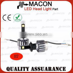 H7 made in china led scooter headlight Voltage 10-30V for BMW 7 series w compsite for Buick