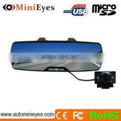2.7 inch car rearview mirror driving recorder dvr and mirror lcd car dvr