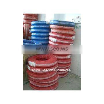 acetylene rubber hose(red color)