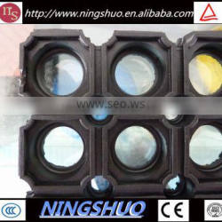 Factory supplier of non slip anti fatigue rubber drainage mat with hole