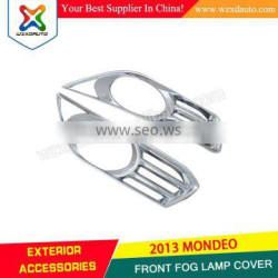 2013 MONDEO FRONT FOG LAMP COVER ABS CHROME CAR ACCESSORIES