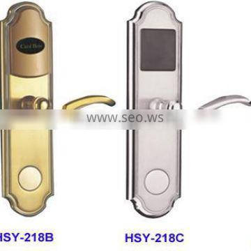 Newest high quality smart electronic hotel lock with one card solution door system