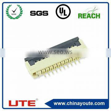 0.5mm pitch FPC connector H=2.0 flip type LCD plug