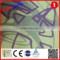 Promotion breathable patterned satin lining fabric factory