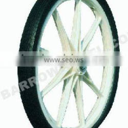 """solid rubber wheel 20""""x2.125"""