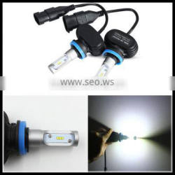 led headlight conversion Kit H11 Car LED Headlight Bulbs CSP Chips Front Head Light Single Beam White 8000lm For Car Motorcycle