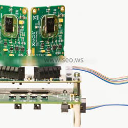 Prototype pcb assembly for blue-ray security detector