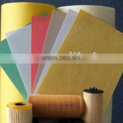 Wood pulp corrugation air filter paper for car