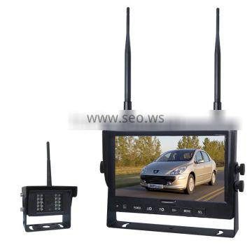 Cheap Price Non-interference Digital Wireless Signal 12V to 48V DC Wireless Truck Rearview Camera with 7inch Reversing Monitor