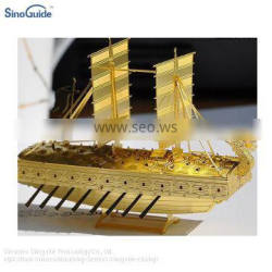 Brass Etching Photo Chemical Etching Boat Model