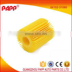 hot sale auto spare parts oil filter 04152-31080 for toyota lexus