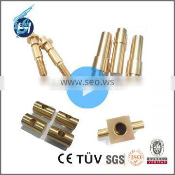 ODM/OEM Alibaba Gold Supplier Customized Brass and Copper CNC Turning Parts With Polishing And Chroming