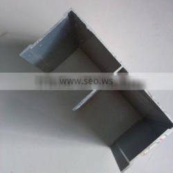 aluminum extrusion, Mill finish , for doors and windows, in various colors, sizes and shapes
