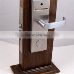 Magnetic card lock with stainless steel and 2 years warranty, hotel locks,door locks