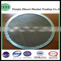 metal type and supporting network filter plate with different mesh size