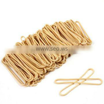 43*1.5 MM Beige Color High Temperature Resistance Industry Rubber Bands