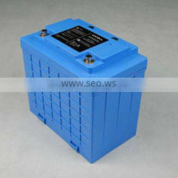 24V60AH LiFePO4 battery pack with BMS