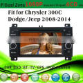 dvd car fit for Jeep new Chrysler 300C Dodge 2008-2014 with radio bluetooth gps tv pip dual zone