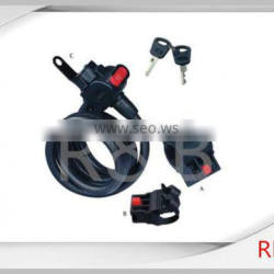 RL-2424 steel cable lock with dust cover