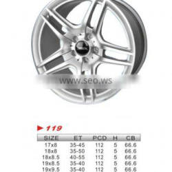 """alloy wheel, 17""""x8 119 used for car"""