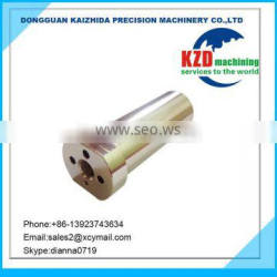 CNC Machining of Copper Material with Electroplating