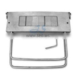 steel mold for making number plate