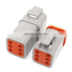 DT Series 6 Way Duetsch Male And Female Connector DT06-6S DT04-6P