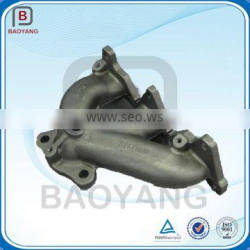 Customized Drawing Design Foundry Cast Iron Exhaust Manifold