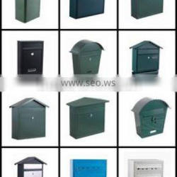 OEM manufacture of aluminum mail box /stailess steel mail box/metal case