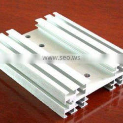 white coated aluminum profile for building and decoration