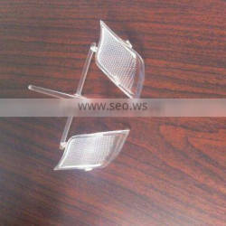 high quality custom made injection molded transparent acrylic products