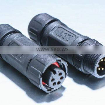 M12 5 pole waterproof assembly connector