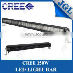 factory price auto head lamp cree chips,high intensity 150w cree aluminum housing off road led light bar
