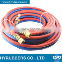 China Supplier rubber twin line welding hose pipe
