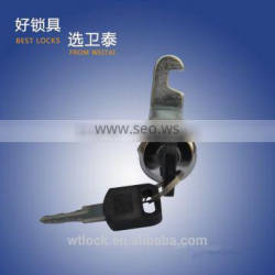 30mm cylinder lock Stainless steel cover pin cam lock with red and green indicator