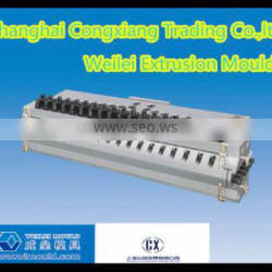Extrusion mould for PVC hollow panel extruder machine line