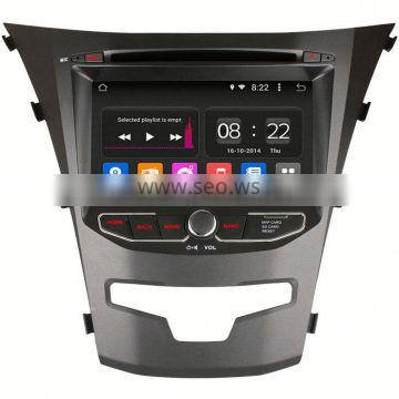 """7"""" Ownice C180 Quad core 1.6GHz android 4.4 gps navigation For Ssangyong Korando built in RDS"""