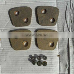 copper friction pad