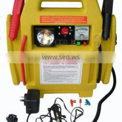 2 in 1 auto jump start with air compressor ce/rohs