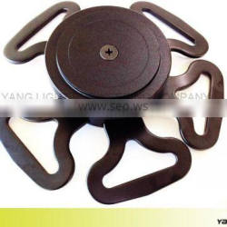 Taiwan Manufacturer Made Multi Points Harness Aluminium 7075 T6 With five Curved Tang safety seat belt buckle