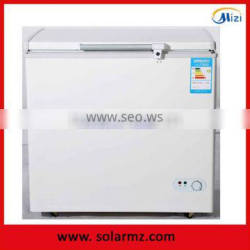 Manufacturer supply solar powered energy deep Battery powered freezer solar 12V dc12/24V DC deep freezer 200L with DC compressor Quality Choice