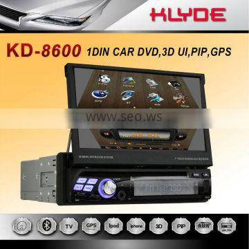 new an hot design 1din car dvd with 7inch touch screen