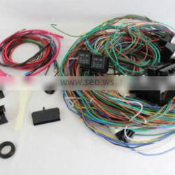 12v 24 Circuit 15 Fuse Street Hot Rat Rod Wiring Harness Wire Kit COMPLETE Quality Choice