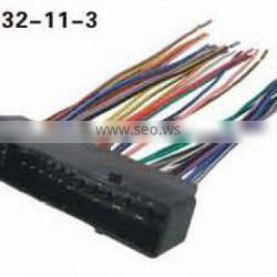 Wiring accessories harness assembly