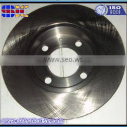Front wheel brake disc solid casting iron material brake disc rotor 3416
