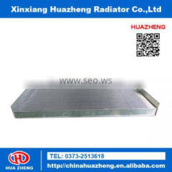 Heavy duty radiator core with plate and tubes