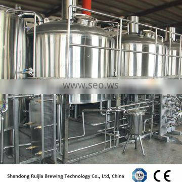 RJ-2000l beer processing brewery plant