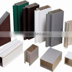 Durable aluminum extrusions 6063 6061 t5 t6 for industrial in powder coating